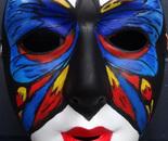 Butterfly mask I.