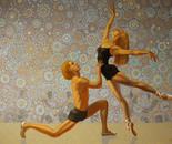 High moments. Modern ballet.