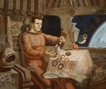Gagarin's breakfast.