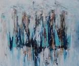 Sirenen, 2015, Mischtechnik auf Leinwand, 120x150 cm