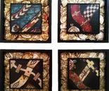 Four decolonial symbols