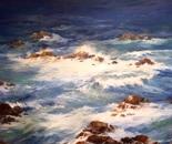 Rocky Surf. Oil. 36x48