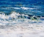 Rolling Surf. Oil. 36x48