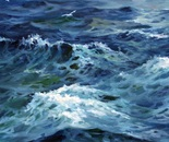 Sea Swell. Oil. 24x48