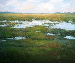 Marsh Estuary. Oil. 30x40