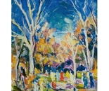 Impressionist Painting *Park in Statesboro