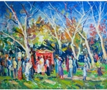 Impressionist Painting *Festival