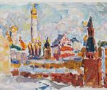Impressionist Painting *Moskov Kremlin