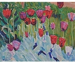 impressionism: Painting *Tulips*