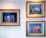 The 3 paintings of the Transformation Suite