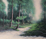 Primavera inoltrata cm.100x80