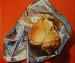 ,,Precious''-oil on canvas-25x25cm