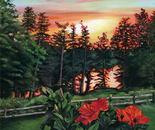 Sunset on Kemptville Creek