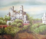 Le chateau Feodal Grimaud - Provence