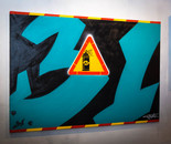 31 spray can Canvas