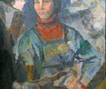 Picture Shavrina Valentine 1936-1990 gg. 86/69 thoughts canvas / oil