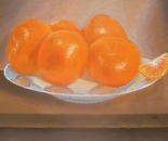 Mandarins On A Plate