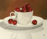 Cherries In A Teacup