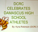 Damascus High School Athlete Celebration at Damascus Community Recreation Center on March 11, 2016