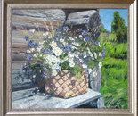 chamomile. cornflowers