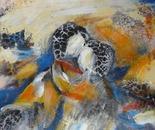 """""""Im Einklang 1""""-Acryl on Canvas, 40x40"""