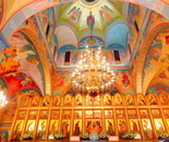 Happy Orthodox Easter 2016! Russian Orthodox Cathedral of St. John the Baptist in Washington DC on May 1, 2016; 4001 17th St NW, Washington, DC 20011