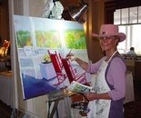 "Painting ""Side By Side"" at The Omni Mount Washington Hotel"