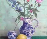 Delft and Delphinium Blue