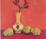 Quinces with Yellow vase