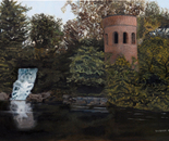 """RAPUNZELS' TOWER"" OIL ON CANVAS"