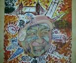 Memories of London. Canvas 60x80 cm. Acrylic.