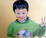 Little chinese boy