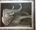 African Elephant Mama
