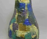 Painted Petal Pot