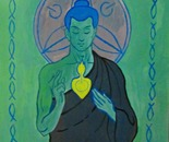 """Sacred Heart of Buddha"""