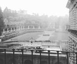Boboli gardens and rain