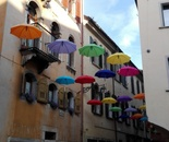 Umbrellas in Belluno