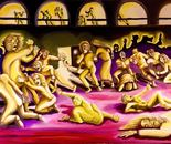 Bataclan, oil on canvas, 2016, 70x50
