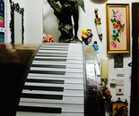 Flexible piano and wall ornaments