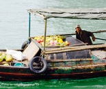 fruit vendor in Along Bay