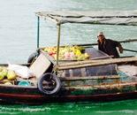 fruit vendor in Along Bay