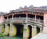 historical bridge in Vietnam