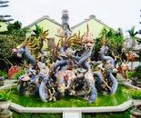 fountain of dragons, Vietnam