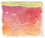 "From the series ""Akvarelnice in akvalumini"" (no. 9), 2006 Watercolor painting on handmade paper, 12,5 x 14,5 cm"