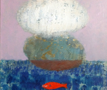 cloud and red fish
