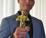 International Golden Oscar for Face Art Robin Wagenvoort