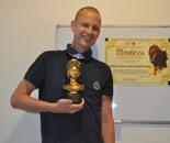 Robin Wagenvoort received the International Art Award Minerva