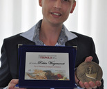 Robin Wagenvoort received the International Tiepolo and Canaletto Art Award