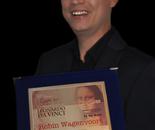 Robin Wagenvoort received the International Leonardo Da Vinci Art Award