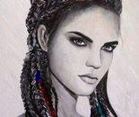 portret 30-40cm aqarel 2016